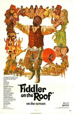 Fiddler on the Roof - Theatrical release poster by Ted Coconis